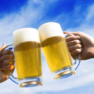 やっぱりビールが旨い!
