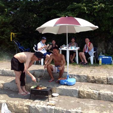 夏の思い出は、やっぱり海と手ぶらバーベキュー!